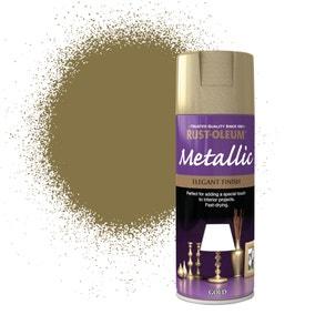 Rust-Oleum Gold Elegant Metallic Spray Paint 400ml