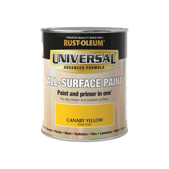 Rust-Oleum Canary Yellow Gloss Universal All-Surface Paint