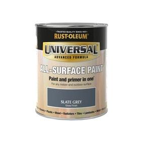 Rust-Oleum Slate Grey Gloss Universal All-Surface Paint