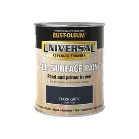 Rust-Oleum Dark Grey Gloss Universal All-Surface Paint