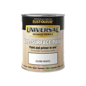 Rust-Oleum White Gloss Universal All-Surface Paint