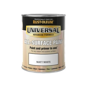 Rust-Oleum White Matt Universal All-Surface Paint