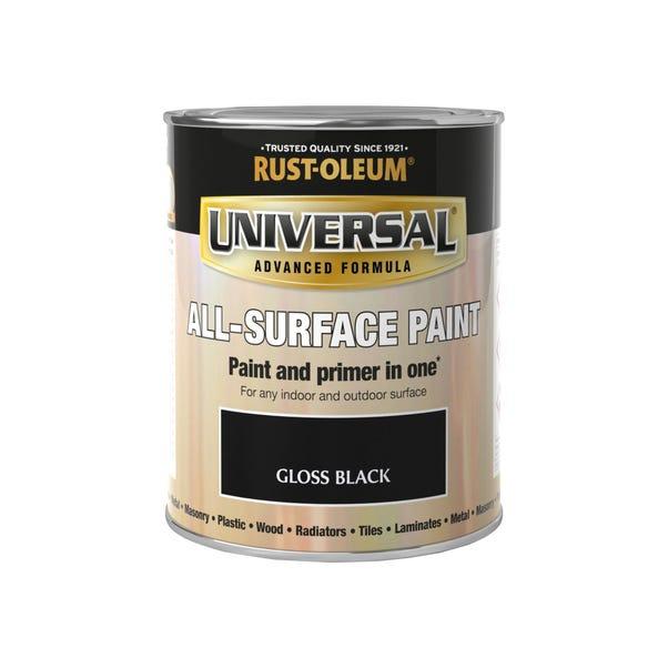 Rust-Oleum Black Gloss Universal All-Surface Paint