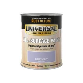 Rust-Oleum Misty Grey Satin Universal All-Surface Paint