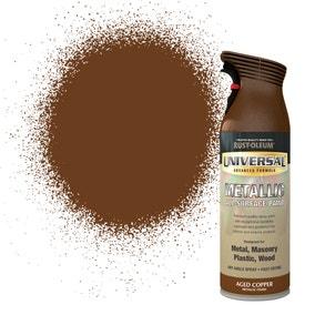 Rust-Oleum Aged Copper Universal Metallic All-Surface Spray Paint 400ml