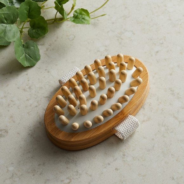 Bamboo Natural Massager  Natural (Brown)