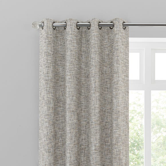 Harlow Natural Eyelet Curtains  undefined
