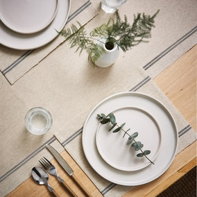 Churchgate Set of 2 Ribbed Striped Placemats