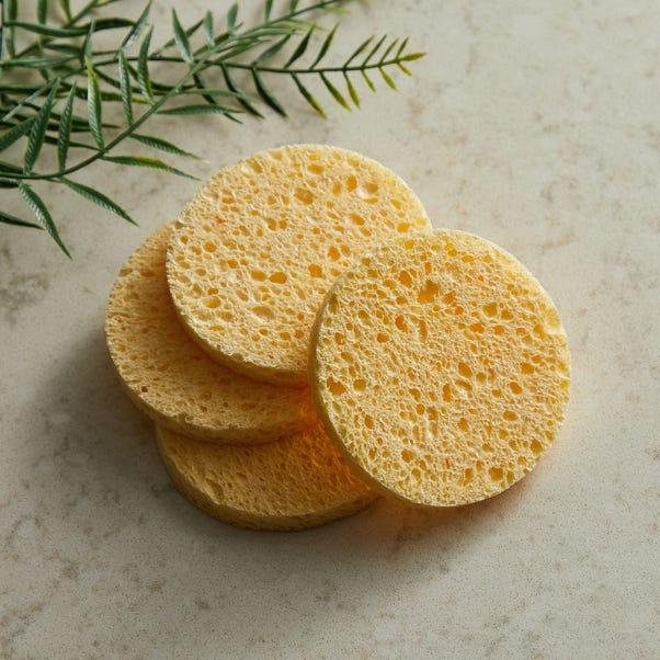 Cellulose Make Up Sponges Natural (Brown)