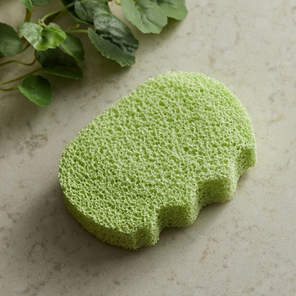 Bamboo Extract Enriched Body Sponge Natural (Brown)