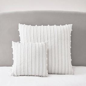 Dorma Coddington White Square Cushion