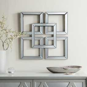 Luxe Decorative Geo Mirror