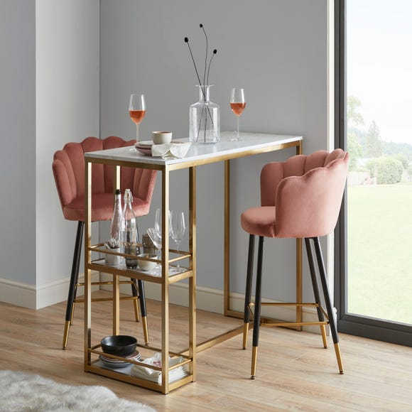 Kendall Bar Table Gold