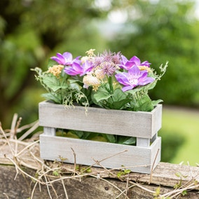 Large Wild Floral Crate