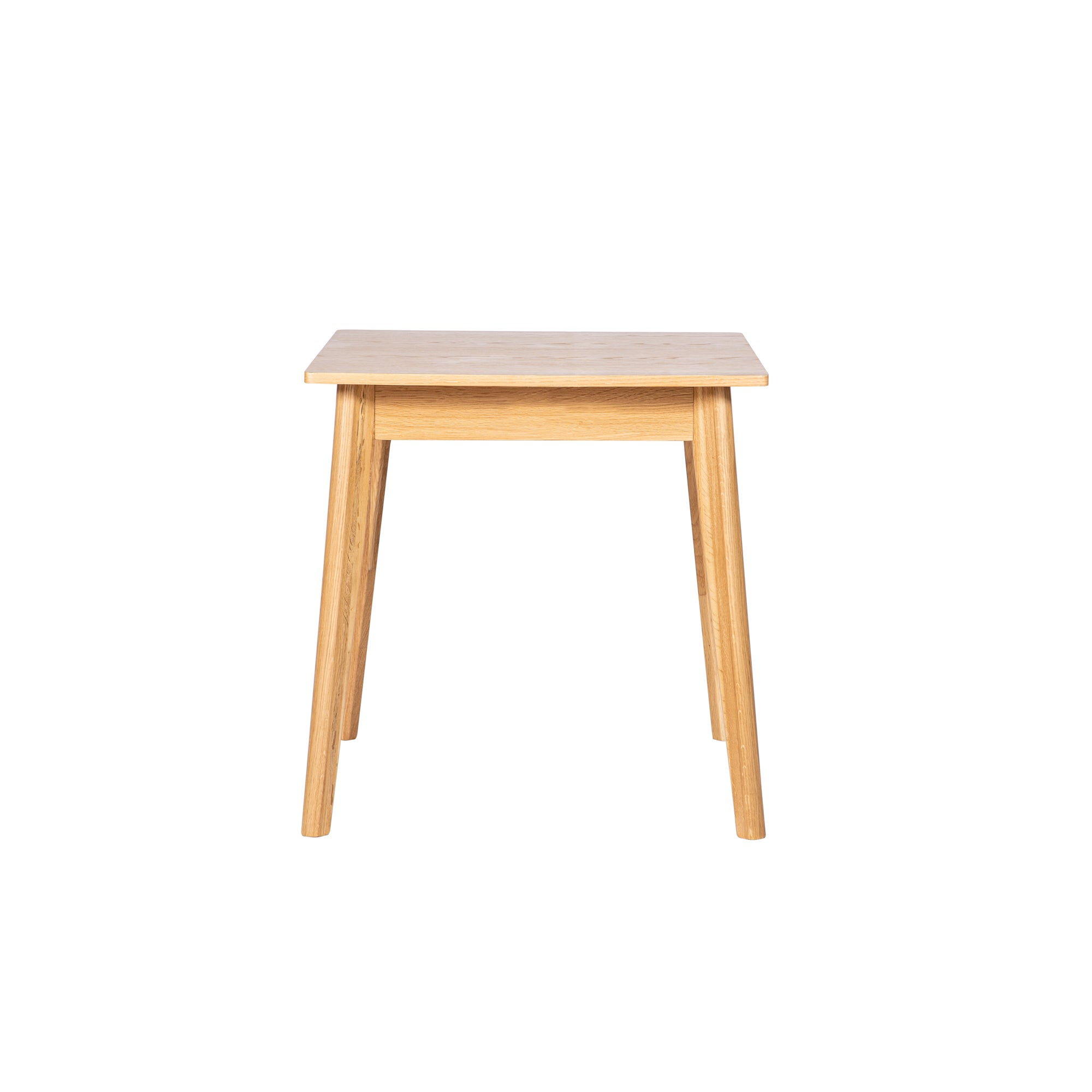 Aster Square Dining Table With Storage Light Oak
