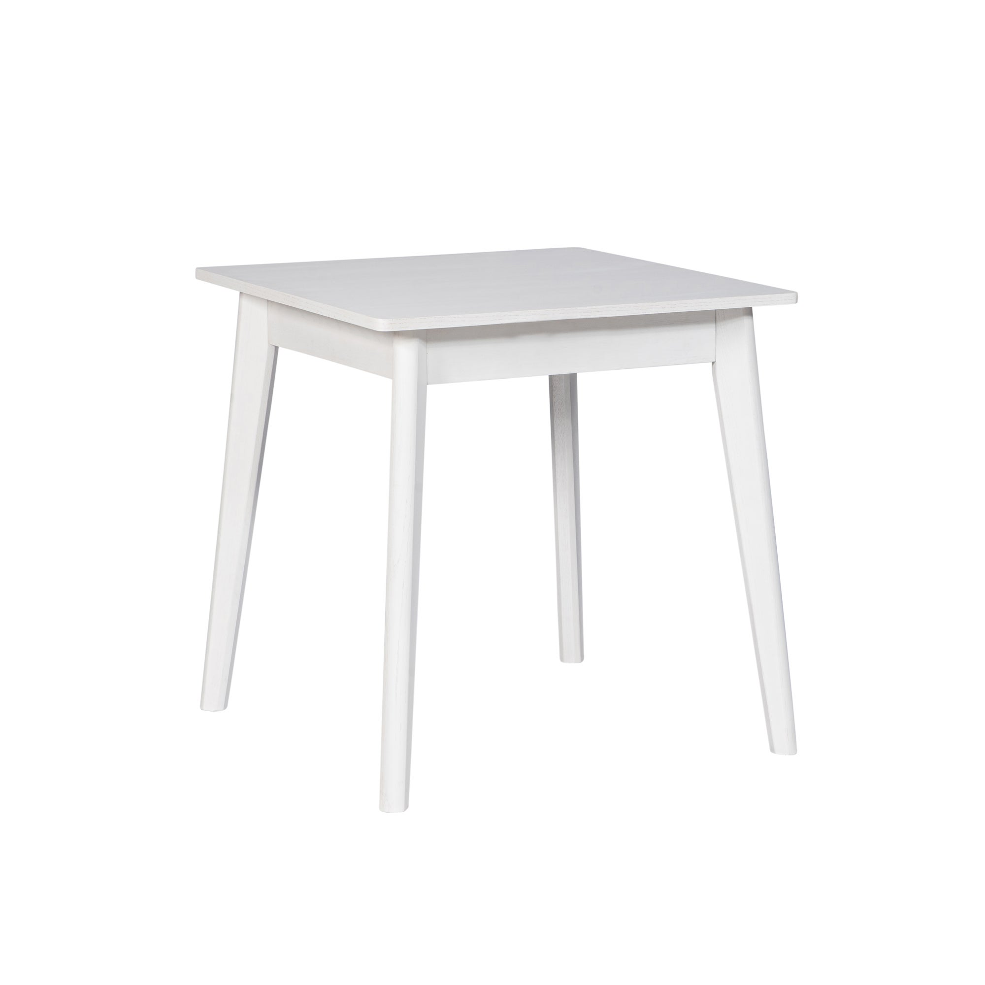 Aster Square Dining Table With Storage White