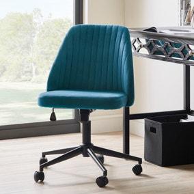 Mya Velvet Office Chair