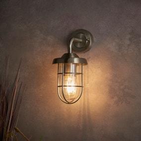 Barker Industrial Outdoor Wall Light