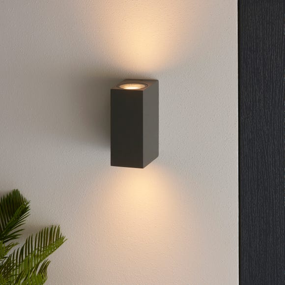 Lamont Outdoor Wall Light Charcoal (Grey)