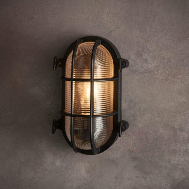 Listera Outdoor Wall Light Black