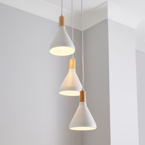 Wolston 3 Light Cluster Ceiling Fitting