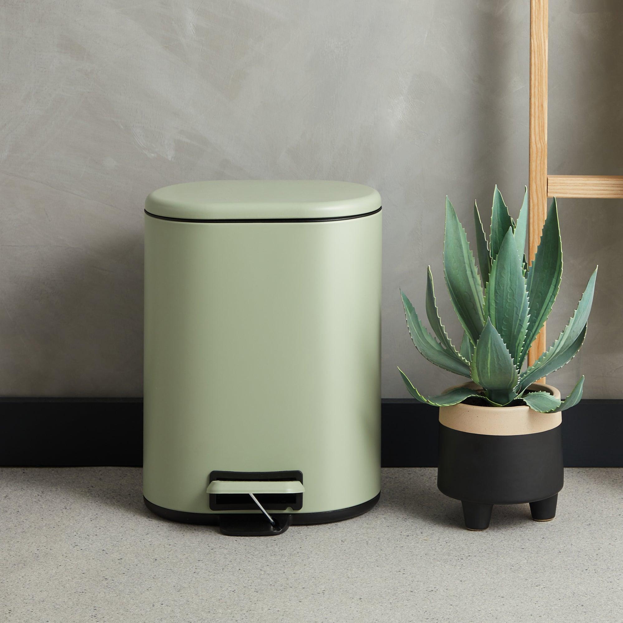 Sage Green Recycling Bin Sage (Green)