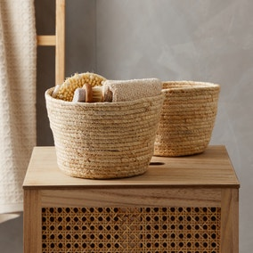 Maize Natural Storage Basket