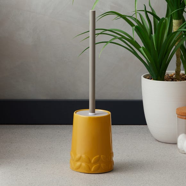 Elements Vete Ochre Toilet Brush Ochre (Yellow)