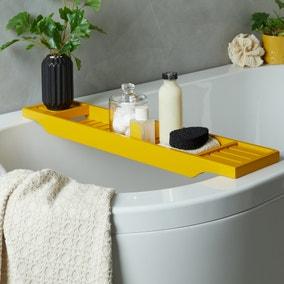 Ochre Bamboo Bath Rack