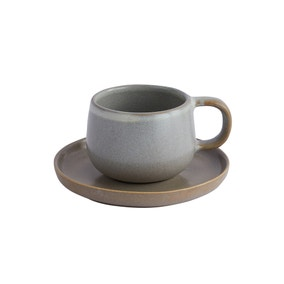 Oslo Grey Cup and Saucer