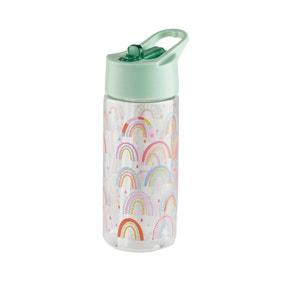 Kids 420ml Rainbow Sipper Bottle