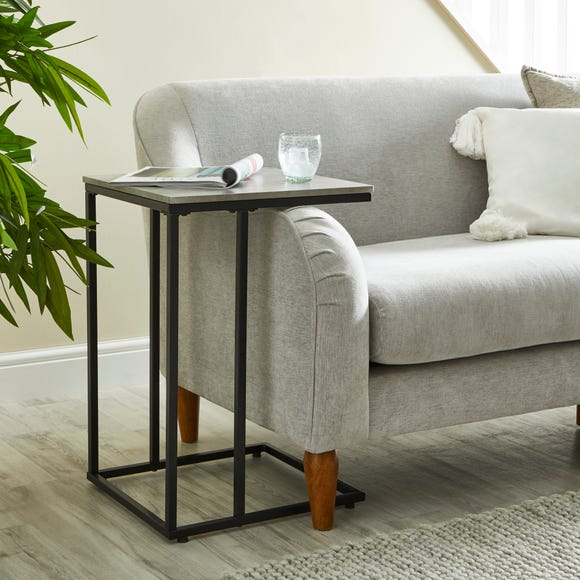 Charlie Concrete Effect Side Table