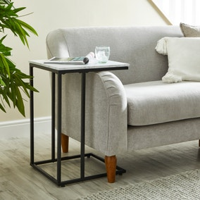 Charlie Marble Effect Side Table