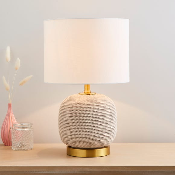Clementine Table Lamp Ivory