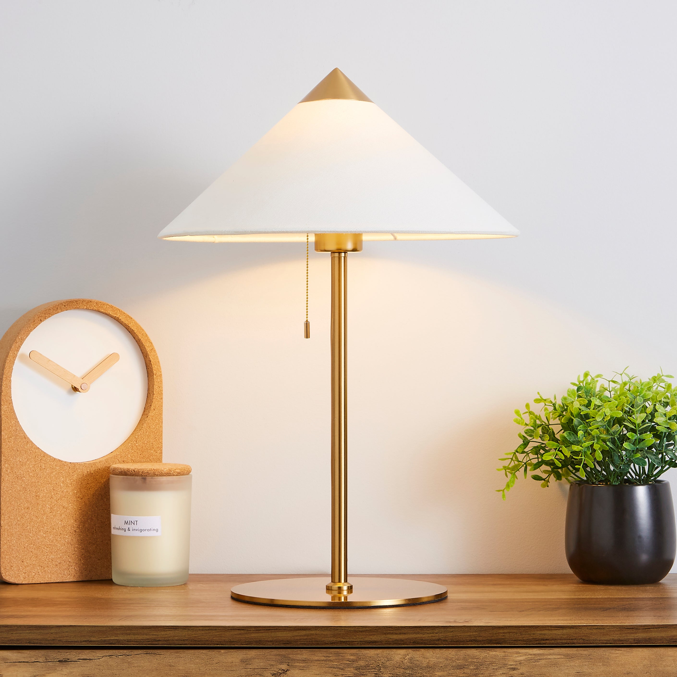 Kyoto Table Lamp Brass