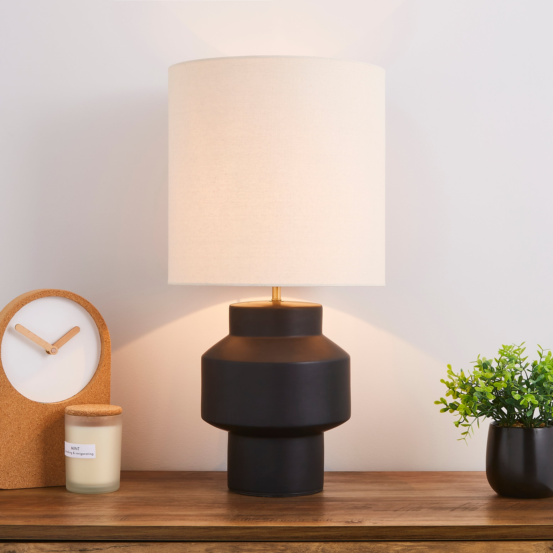 Montreal 58cm Table Lamp Black