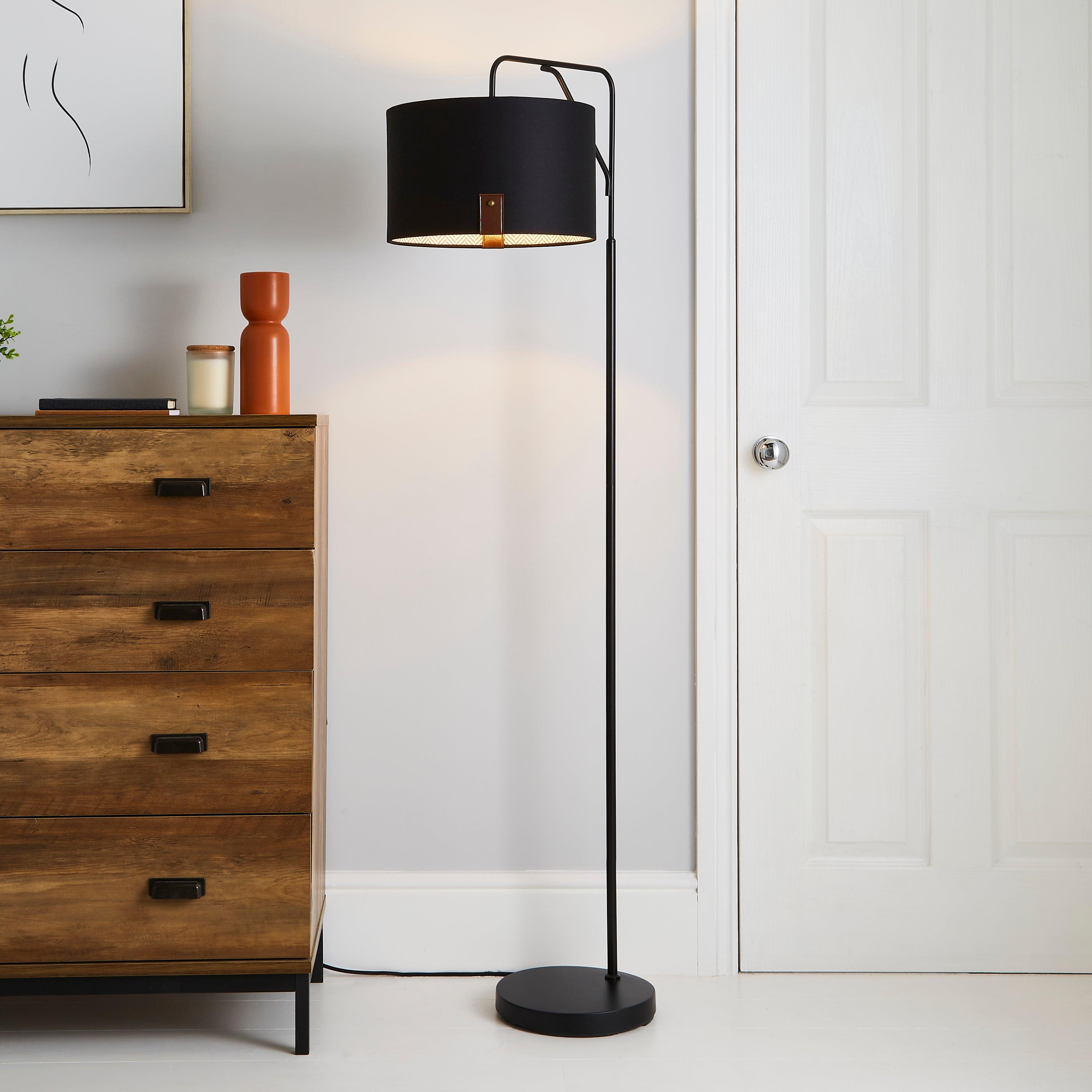 Dorrian Floor Lamp Black