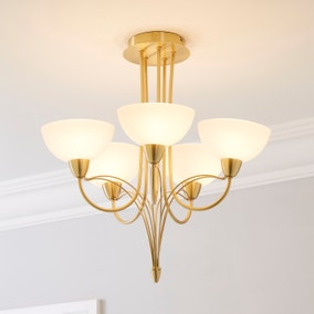 Buville 5 Light Ceiling Fitting