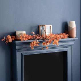 Autumn Orange Eucalyptus Garland 160cm
