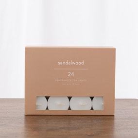 Pack of 24 Sandalwood Tealights