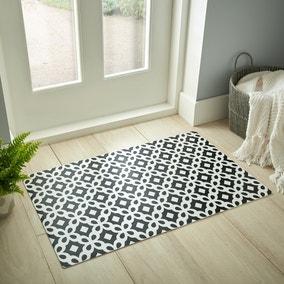 Trellis Tile Vinyl Doormat