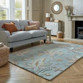 Dalby Floral Wool Rug