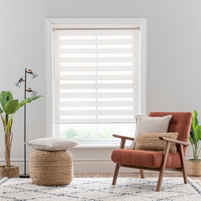 Linen Mix Natural Day and Night Roller Blind