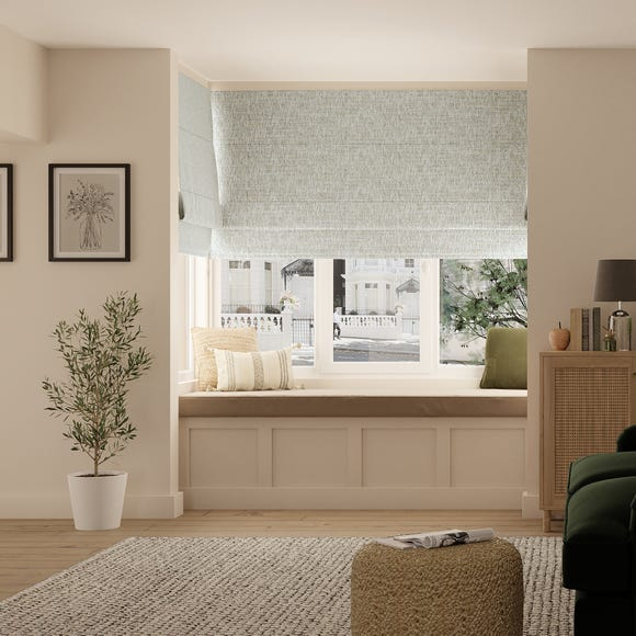 Harlow Natural Roman Blind  undefined