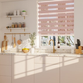 Day and Night Blush Daylight Roller Blind