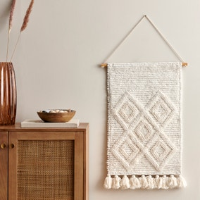 Extra Large Inca Tufted Wall Hanging