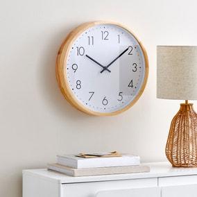 Wooden Silent Clock