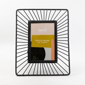 Black Wire Photo Frame