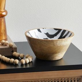 Small Mango Wood Bowl