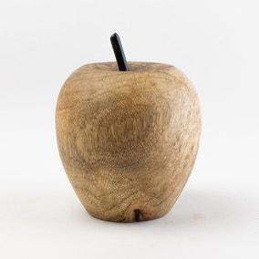 Churchgate Solid Wood Apple Ornament